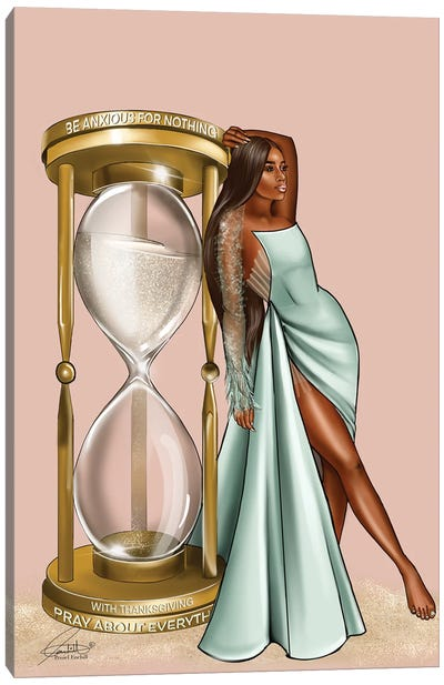 Golden Hour Glass Canvas Art Print