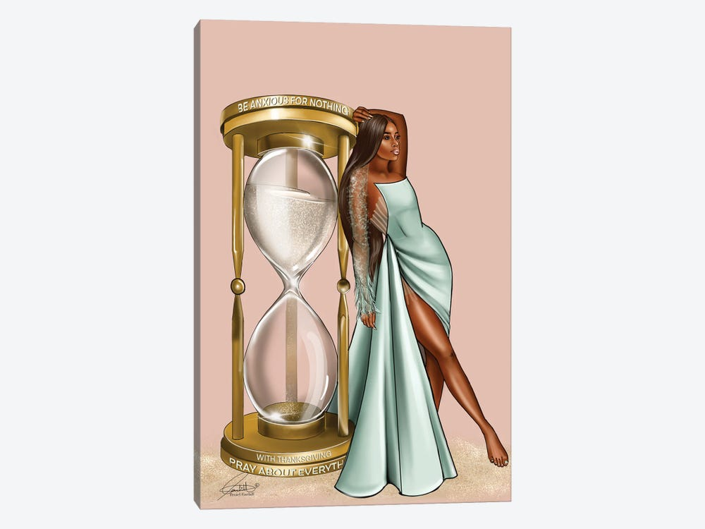Golden Hour Glass by Peniel Enchill 1-piece Canvas Art