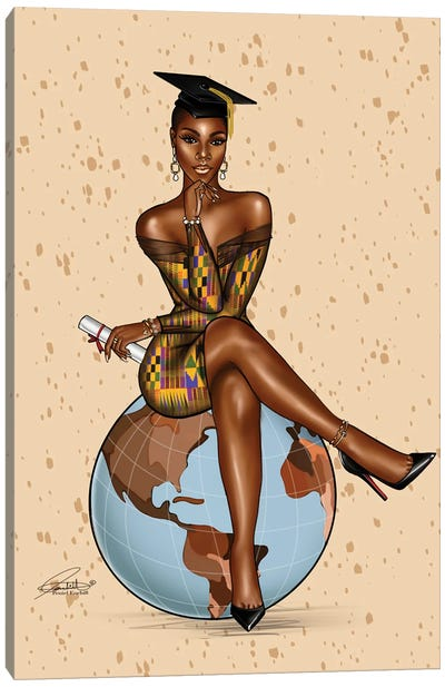 On Top Of The World Canvas Art Print