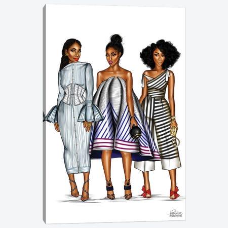 Stripes Canvas Print #PEA36} by Peniel Enchill Canvas Wall Art
