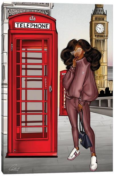 Beryy London Canvas Art Print