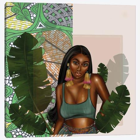 Leafy Green Canvas Print #PEA41} by Peniel Enchill Canvas Art