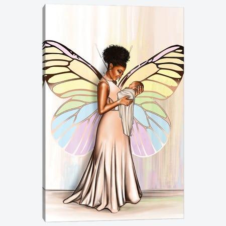Rainbow Mom Canvas Print #PEA4} by Peniel Enchill Canvas Print