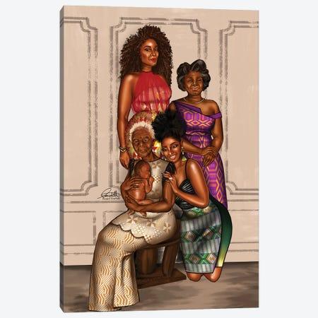 Generations Canvas Print #PEA7} by Peniel Enchill Art Print