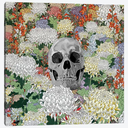 Life And Death Canvas Print #PED26} by Pedro Tapa Canvas Wall Art