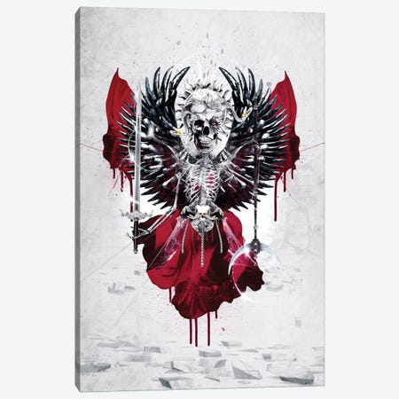 Skull Lord I Canvas Print #PEK101} by Riza Peker Canvas Artwork