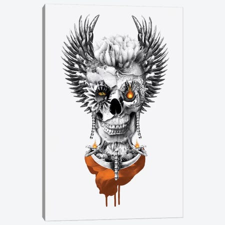 Skull Lord II Canvas Print #PEK102} by Riza Peker Canvas Artwork