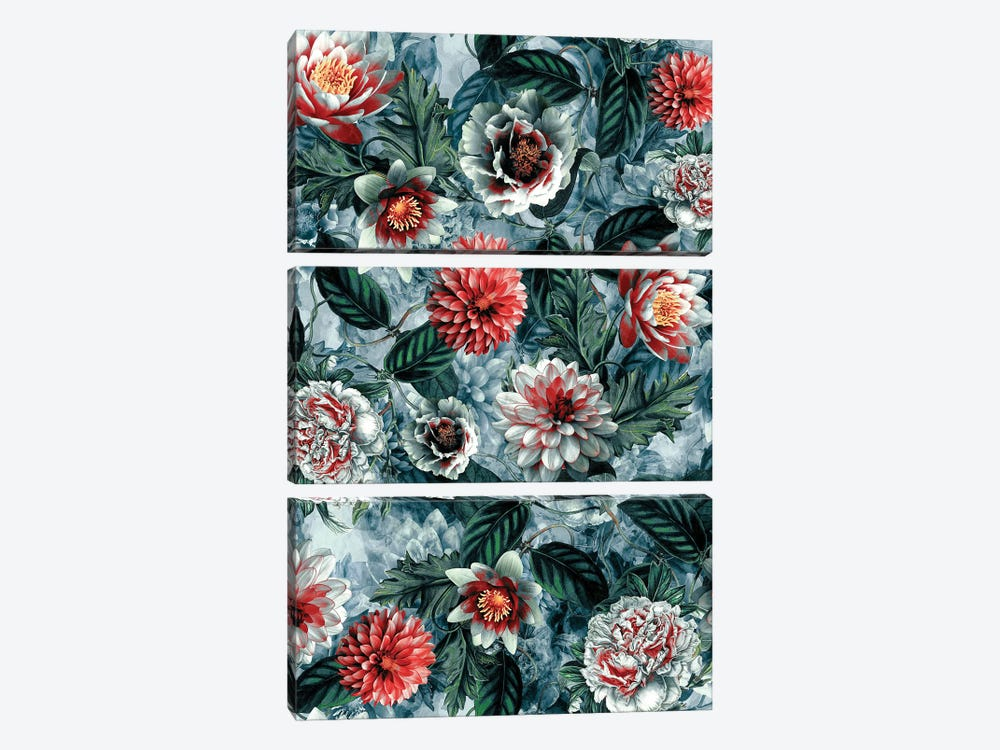 Botanica by Riza Peker 3-piece Canvas Artwork