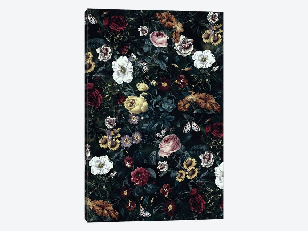 Botanical Garden V 1-piece Canvas Print