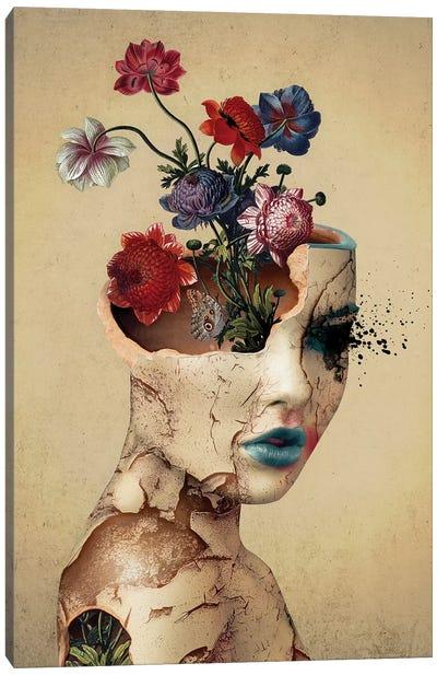 Broken Beauty Canvas Art Print