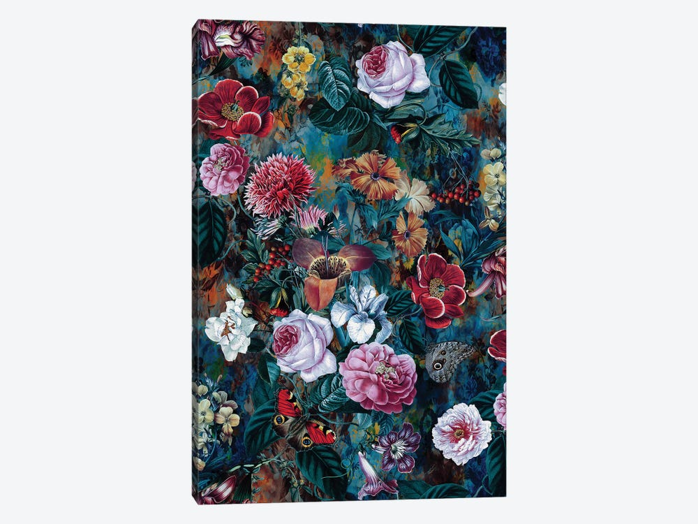 Dance Of Flowers by Riza Peker 1-piece Canvas Wall Art
