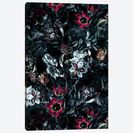 Night Garden II Canvas Print #PEK118} by Riza Peker Art Print