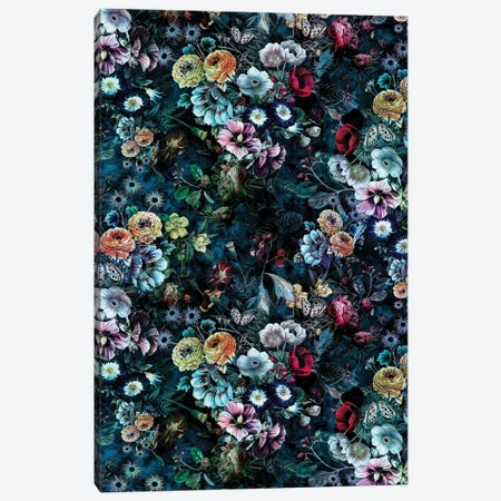 Night Garden 10K 3-Piece Canvas #PEK119} by Riza Peker Canvas Print
