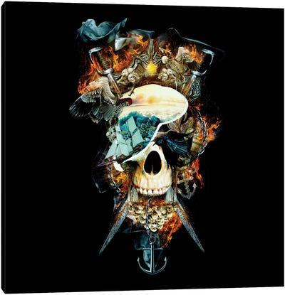 Pirate Skull I Canvas Art Print