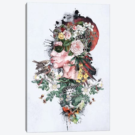 Queen Of Nature Canvas Print #PEK122} by Riza Peker Canvas Art