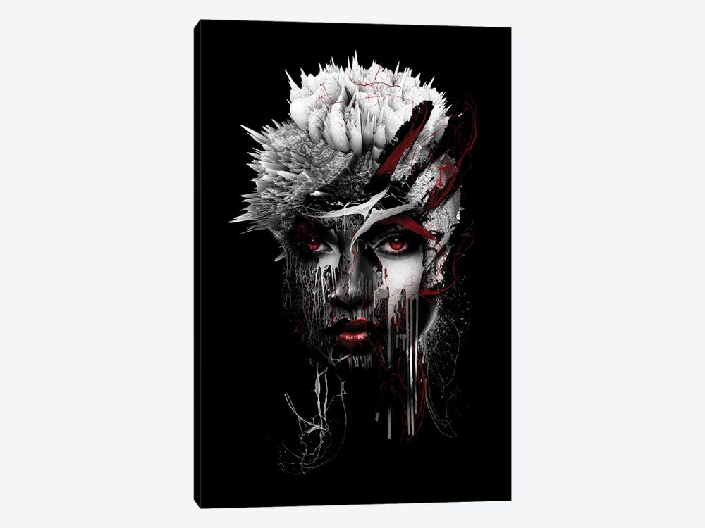 Red Eye by Riza Peker 1-piece Canvas Print