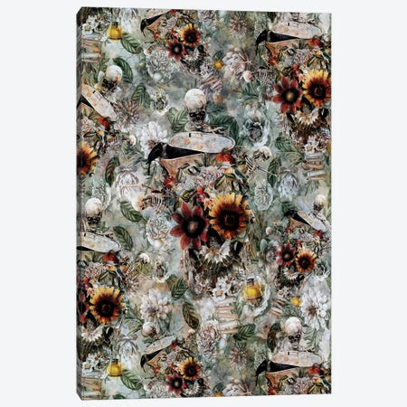 Skull Garden 3-Piece Canvas #PEK126} by Riza Peker Art Print