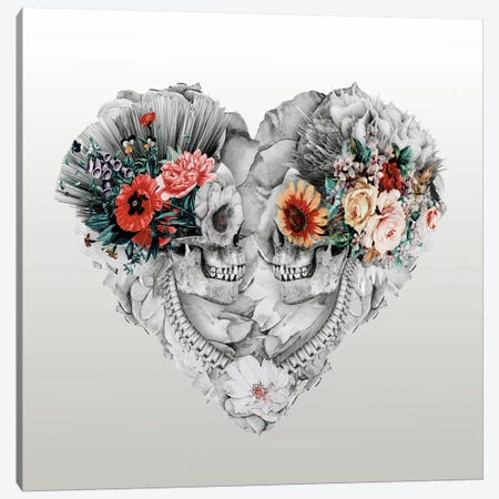 Forever Love II Canvas Print #PEK12} by Riza Peker Canvas Print