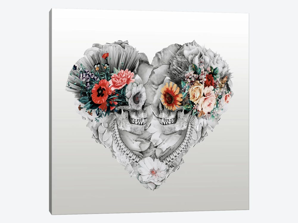 Forever Love II by Riza Peker 1-piece Canvas Wall Art