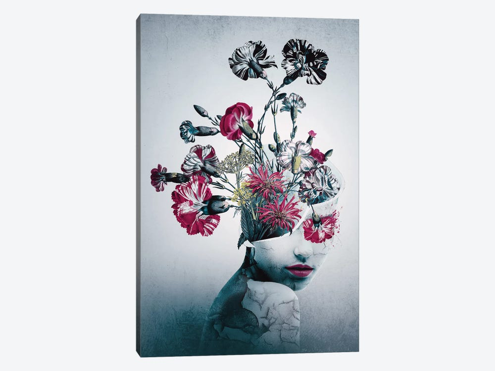 Spirit Of Flowers by Riza Peker 1-piece Canvas Artwork