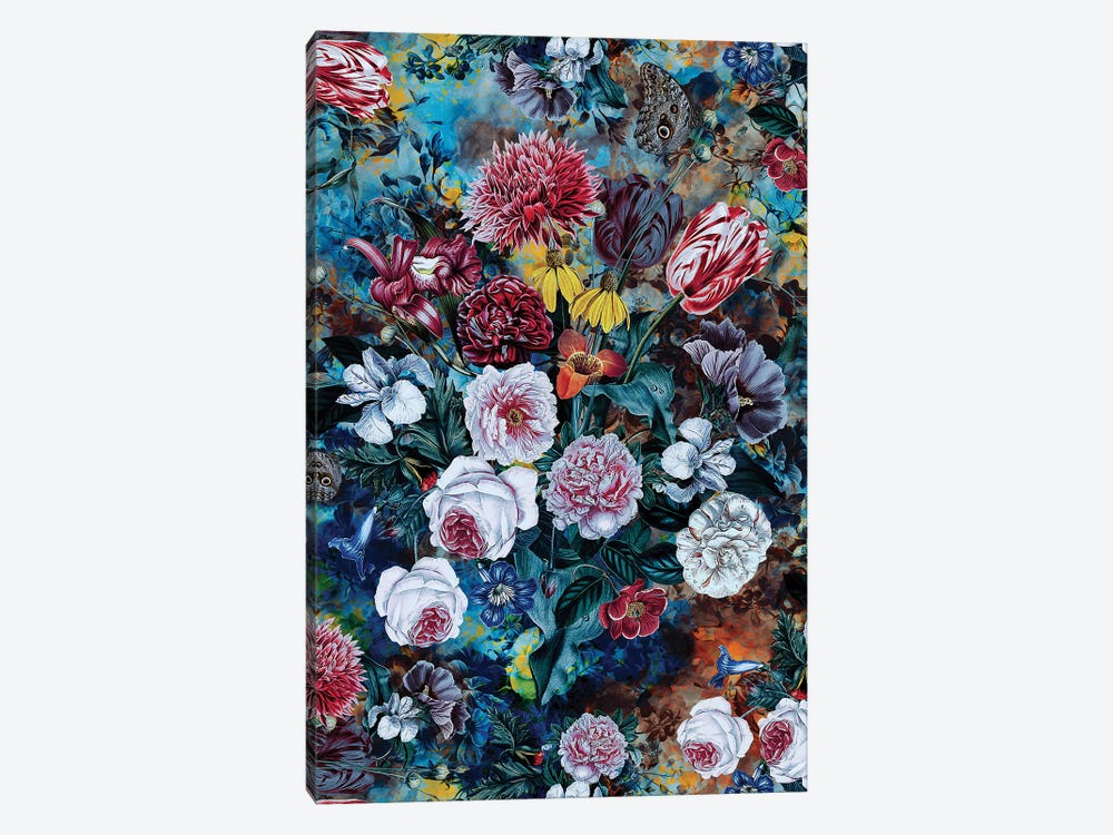 Still Life Of Flowers by Riza Peker 1-piece Canvas Print