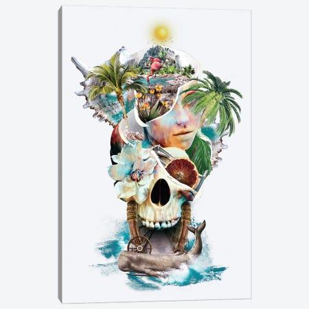 Summer Dream 3-Piece Canvas #PEK133} by Riza Peker Canvas Art Print