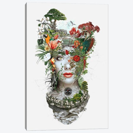 Woman I Canvas Print #PEK137} by Riza Peker Canvas Art