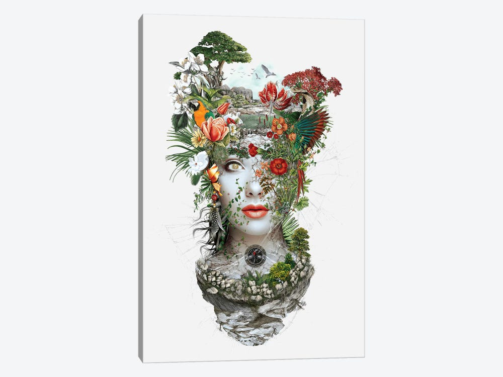 Woman I by Riza Peker 1-piece Canvas Artwork