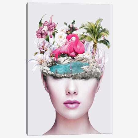 Woman II Canvas Print #PEK138} by Riza Peker Canvas Print