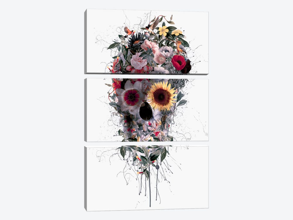 I by Riza Peker 3-piece Canvas Art Print