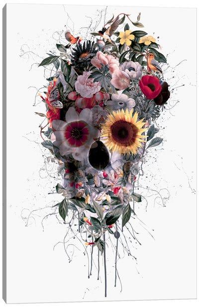 Floral Skull Series: I Canvas Print #PEK13