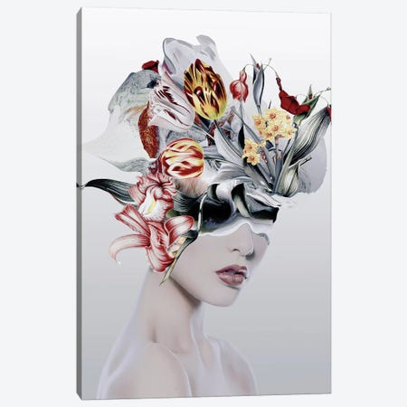 Woman IV 3-Piece Canvas #PEK140} by Riza Peker Canvas Artwork