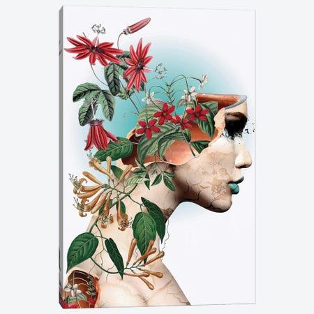 Beauty Of Life Canvas Print #PEK142} by Riza Peker Canvas Wall Art