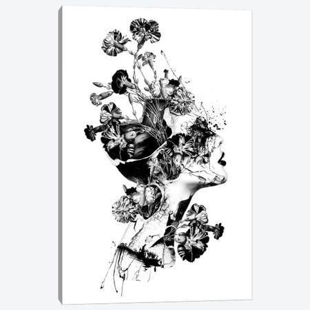 Broken BW Canvas Print #PEK146} by Riza Peker Canvas Print