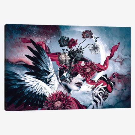 Queen of Flowers Canvas Print #PEK159} by Riza Peker Canvas Art Print