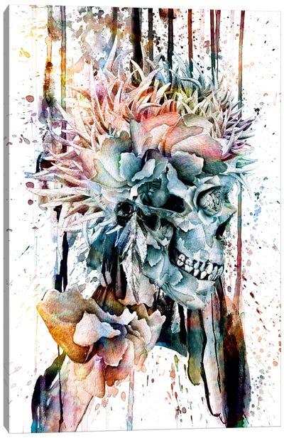 Floral Skull Series: III Canvas Print #PEK15