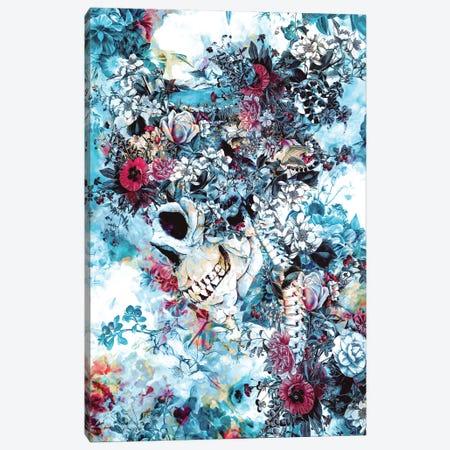 Skull Queen II Canvas Print #PEK163} by Riza Peker Canvas Artwork