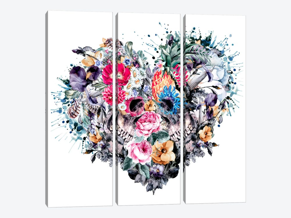 Love Forever by Riza Peker 3-piece Canvas Artwork
