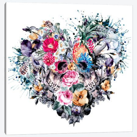 Love Forever Canvas Print #PEK16} by Riza Peker Canvas Art