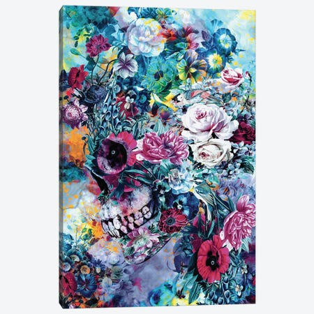 Surreal Skull Canvas Print #PEK171} by Riza Peker Canvas Art Print