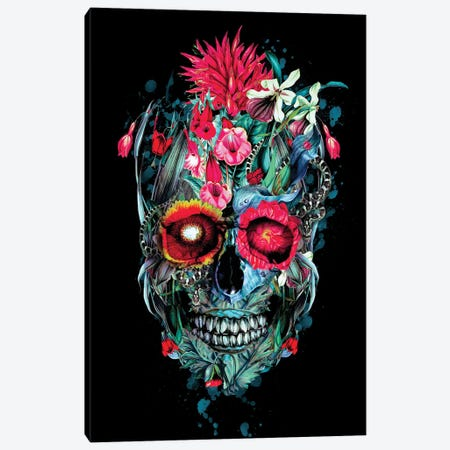 Sweet Toxic Canvas Print #PEK173} by Riza Peker Art Print