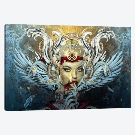 The Blood Witch Canvas Print #PEK174} by Riza Peker Canvas Art