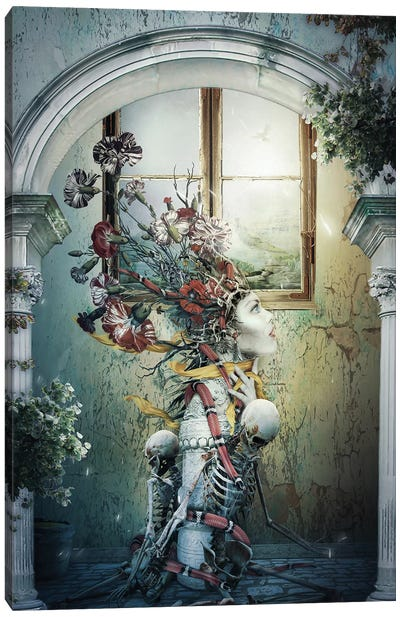 Life In Death Canvas Art Print