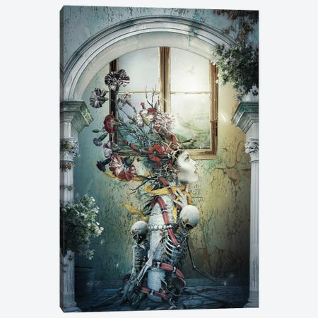 Life In Death Canvas Print #PEK181} by Riza Peker Canvas Art