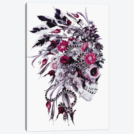 Momento Mori Chief Canvas Print #PEK19} by Riza Peker Canvas Art Print