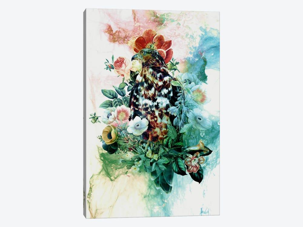 Bird In Flowers by Riza Peker 1-piece Canvas Art Print