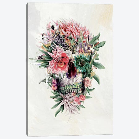 Momento Mori I Canvas Print #PEK20} by Riza Peker Canvas Wall Art
