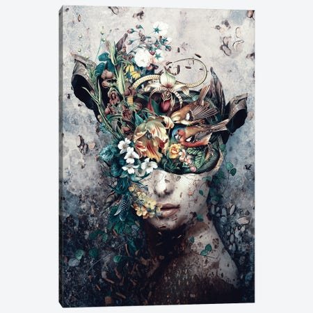 Source Of Life Canvas Print #PEK212} by Riza Peker Canvas Wall Art