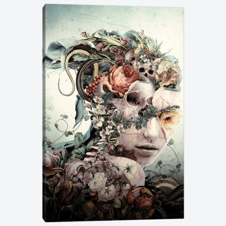 Fractured Canvas Print #PEK214} by Riza Peker Canvas Print