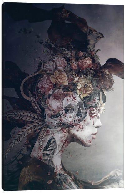 Broken Queen Canvas Art Print